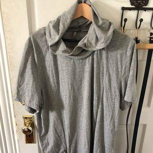 ASOS oversized t shirt with zipper details